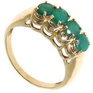 emerald ring ebay