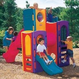Little Tikes Tropical Playground, new with a damaged box