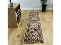 Brown runner rug for sale