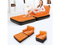 2 Multi-Max-Air Couch Chairs Orange