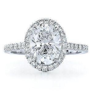 Oval Diamond Ring Ebay