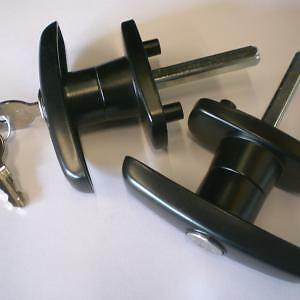 Fiberglass Truck Cap - Rear Door Hardware - We Have It