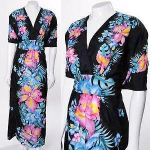 Vintage hawaiian dress ebay vintage hawaiian maxi dress gumiabroncs Gallery