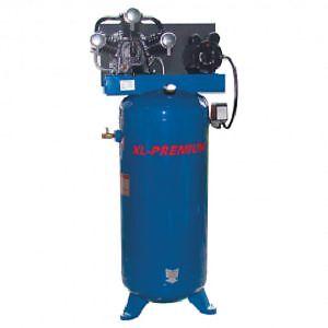 Compresseur très puissant 18 cfm @ 40psi, max 150 psi. 60gal