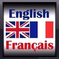 English to french translater 0.05$/word