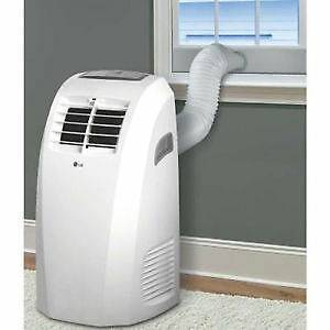 LG 10000 BTU Portable air conditioner like new