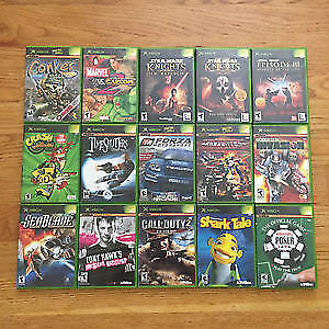 looking to buy ps1, original xbox,gamecube, n64, ps2 games