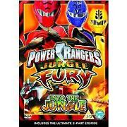 Power Rangers Jungle Fury DVD