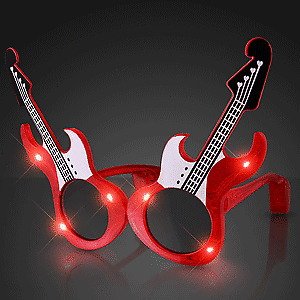 *****RED/BLUE LED GUITAR SUNGLASSES*****