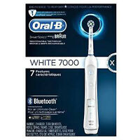 Oral-B White 7000 SmartSeries with Bluetooth Brand New fOR sale