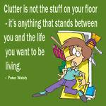 Deli D Clutter