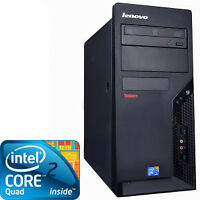 Lenovo Quad Core  Intel Core 2 Quad 2.4ghz 4GB DDR3 Memoire 320G