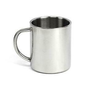 Stainless steel mug ebay - Travel mug stainless steel interior ...