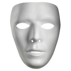 white mask ebay