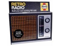 RETRO RADIO KIT NEW NEVER BEEN USED