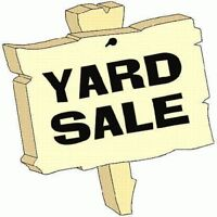 Huge Yard and Craft Sale