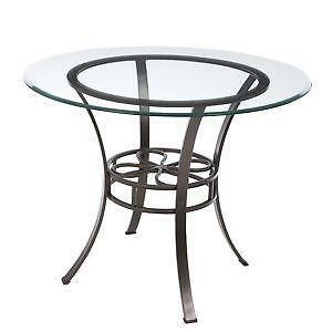 Round Dining Table EBay - 52 inch round glass dining table