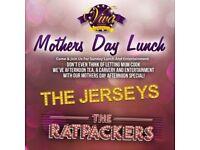 MOTHERS DAY AFTERNOON WITH 'THE JERSEYS' AND 'THE RATPACKERS'