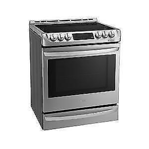Cuisinière LG encastrée LSE5615ST, d'une capacité 6,3 pi³ inox