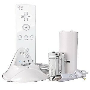 Remote Charging Dock + Rechargeable Battery Pack for Wii
