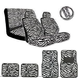 VW Beetle Zebra Seat Covers