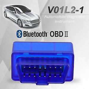 OBD2 Bluetooth Scanner. Scan/Erase Engine Light with Phone! New!