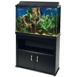 45 Gallon Aqueon Aquarium w Stand