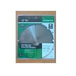 "Hitachi 12""-8 Teeth Polycrystalline Dimond Tip Fiber Cement Blad"