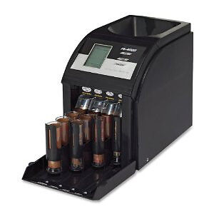 Royal Sovereign Fast Sort Automatic Digital Coin & Change Sorter Black FS4DA NEW