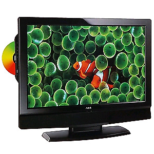 """26"""" hdtv with hdmi, vga, dvd player and remote"""