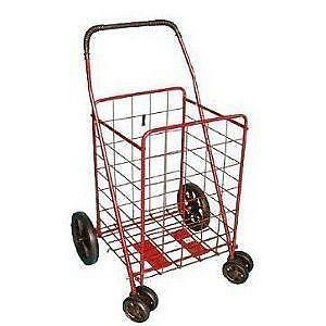 Jumbo Folding Shopping Cart Ebay