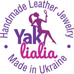 Handmade leather jewelry Yak Lialia
