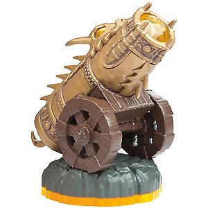 Wii Skylanders Giants - Golden Dragonfire Cannon Battlepack