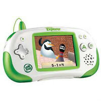Leapster Explorer Learning System (green) w/carrying case