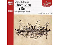 Jerome K. Jerome 'Three Men In a Boat' CD Audio Book