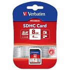Verbatim SDHC 8GB Camera Memory Cards