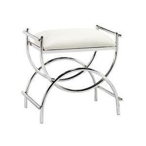 Vanity stool ewaft - Black and white vanity stool ...