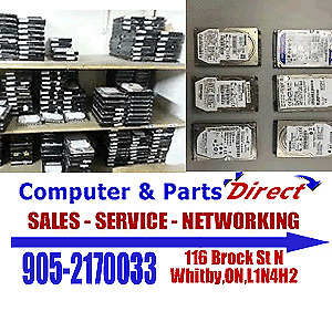 Used Laptop and Desktop 500GB Hard Drives