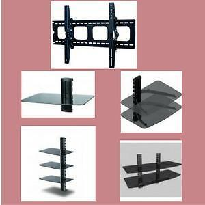 Weekly Promotion!!Fixed TV Wall Mount Bracket, Tilt TV Mount,Full motion TV Mount, Ceiling TV Mount, DVD Shelf Wall Moun