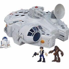 star wars Millenium Falcon Galactic Heroes
