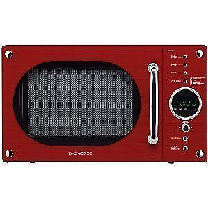 Daewoo Red Microwave Ebay