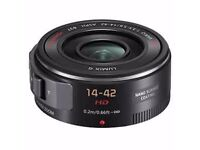 Panasonic 14-42mm f/3.5-5.6 X Series ASPH. POWER O.I.S. LUMIX G PZ £125