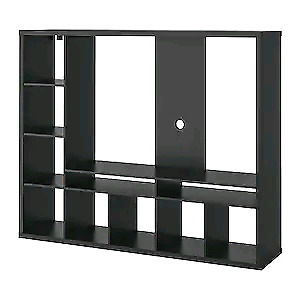 Lappland Ikea tv storage unit - with floating tv stand