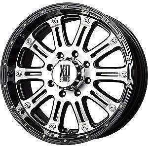 xd rims wheels tires parts ebay 2008 GMC 2500HD Lifted 18 inch xd rims