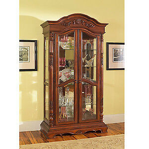 Excellent Anique Collection - Display Cabinet