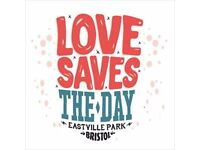 1x Sunday love saves the day tickets
