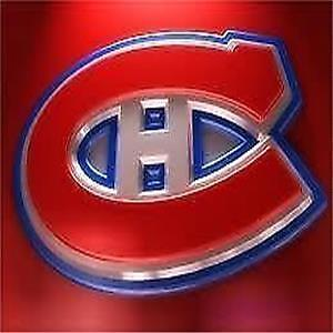 REDS LOWER BOWL/DESJARDINS SEATS for ALL 2016-17 HABS GAMES !
