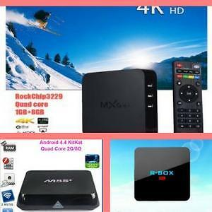 Boxing Week Sales Extended!Original Android TV Box, Android Box with free shipping, Android Smart TV,H.265 4K HD Media P