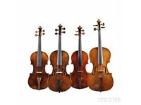 New session: Adult beginner/ post beginner violinists - play in a relaxed and supportive group
