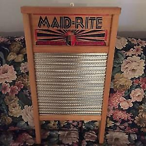 Metal Washboard older